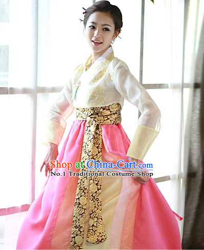 Top Korean Modern Hanbok Dancing Costumes Girls Dancewear
