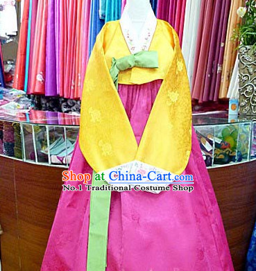 Top Korean Hanbok Clothes Asian Fashion Korean National Costumes