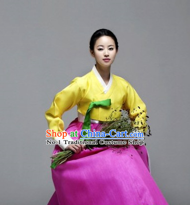 Top Korean Clothing Asia Fashion Korean Hanbok National Costumes