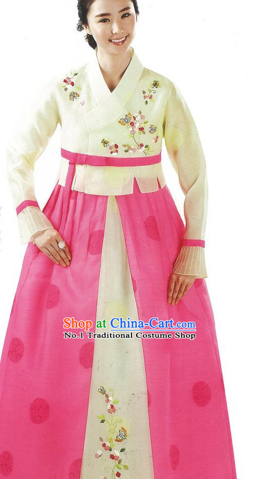 Top Korean Folk Dress online Traditional Costumes National Costumes for Ladies