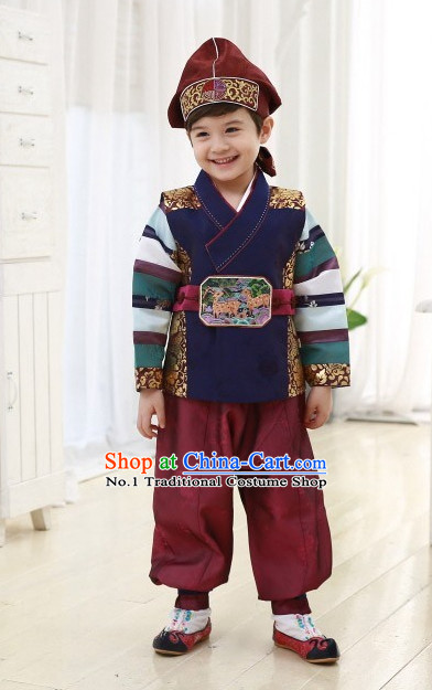 Top Korean Folk Dress online Traditional Costumes National Costumes for Boys