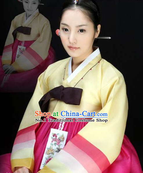 Korean Female National Costumes