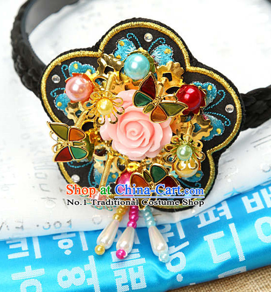 Korean Royal Hair Accessories Hair Ties Hair Jewelry Fascinators Hair Extensions Headbands