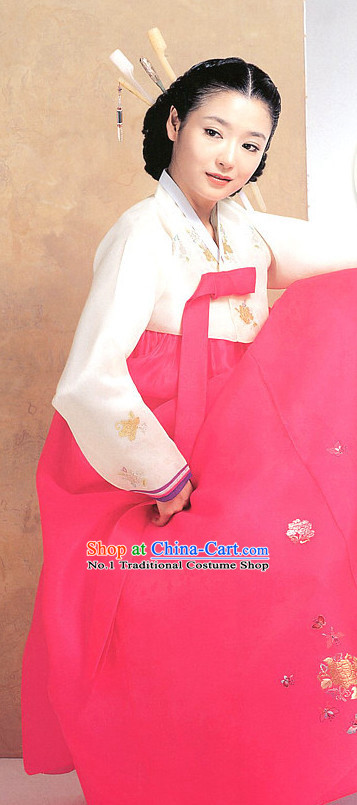 Top Korean Traditional Custom Made Hanbok Clothes for Women