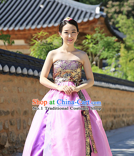 Top Korean Traditional Custom Made Modern Hanbok Skirt for Women