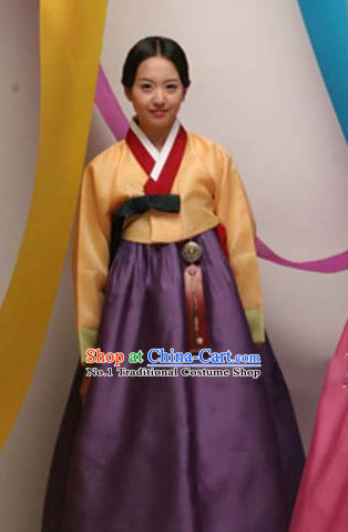 Top Korean Traditional Custom Made Hanbok Complete Set for Women