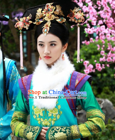 Chinese Empress Imperial Hair Accessories Set