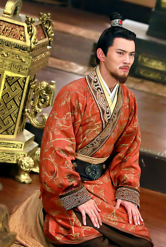 China Ancient Hanfu Clothes and Coronet Complete Set for Men