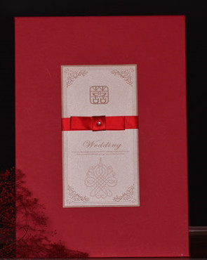 Romantic Wedding Guest Signatures Cloth Book