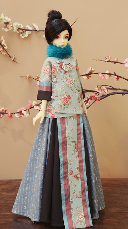 Asian Fashion Traditional China National Costume for Women