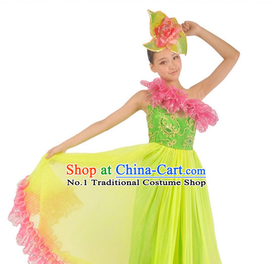 Chinese Contemporary Costumes and Headwear for Women