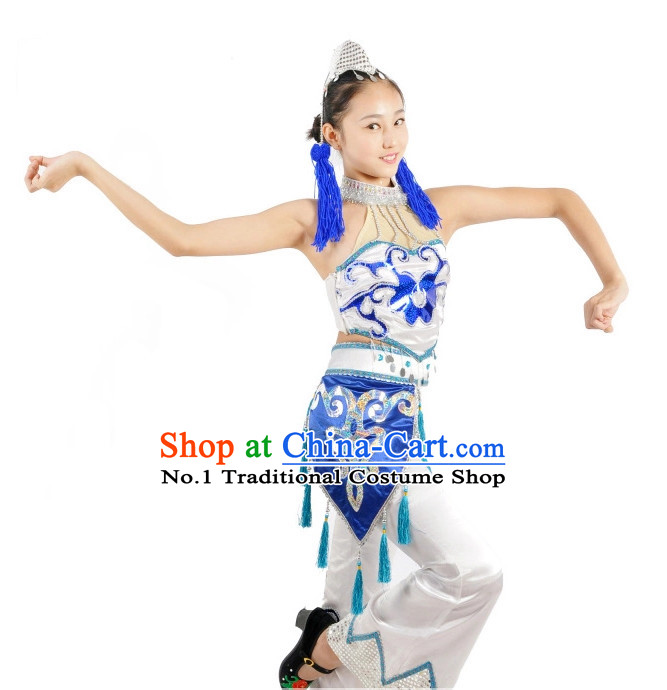 Chinese Costumes Ethnic China Nationality Group Costumes for Women