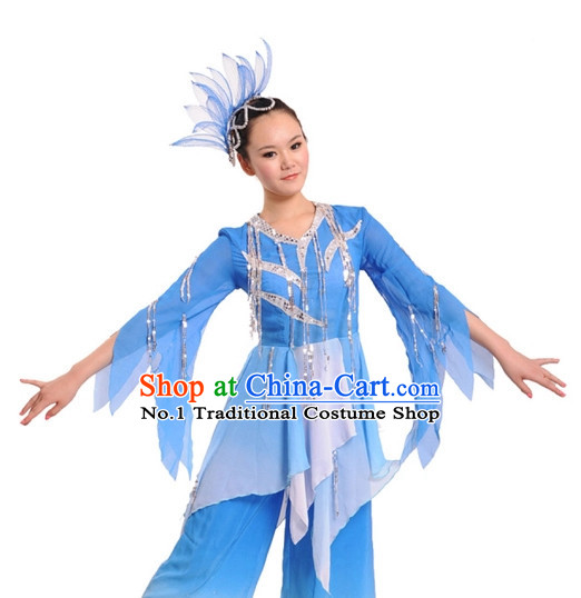 China Dance Costumes Complete Set for Women