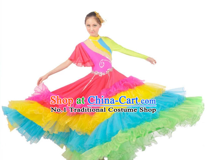 China Shop Chinese Stage Performance Dance Attire for Women