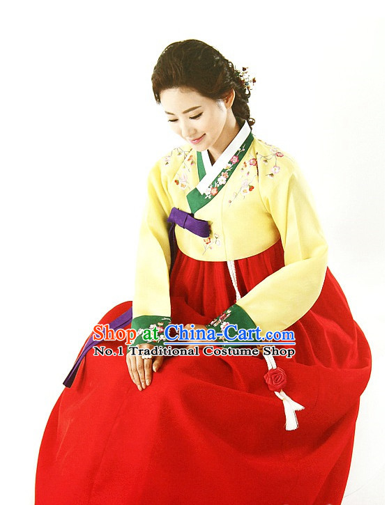 Folk Korean Formal Dress for Women