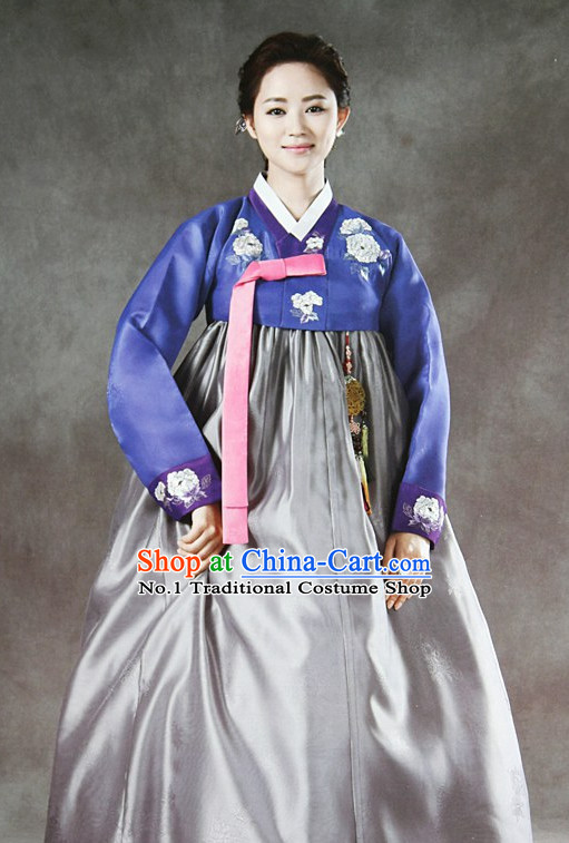 Korean Traditional Mother of the Groom Dresses Hanboks Complete Set