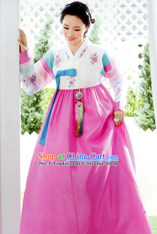 Korean Mother of the Bride Dresses Complete Set