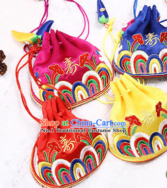 Korean Traditional Clothing Decorations Three Bags