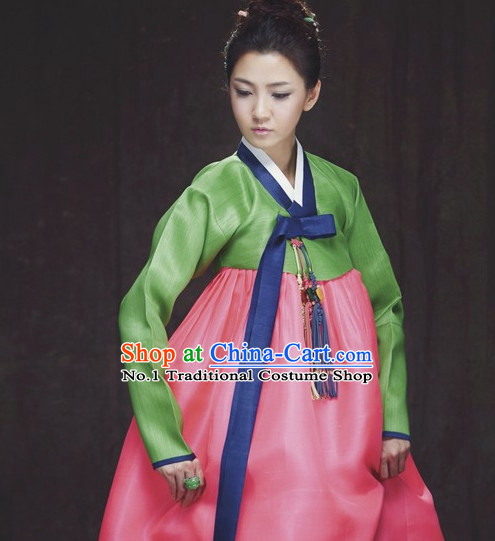 Korean Fashion Traditional Dress Complete Set for Women