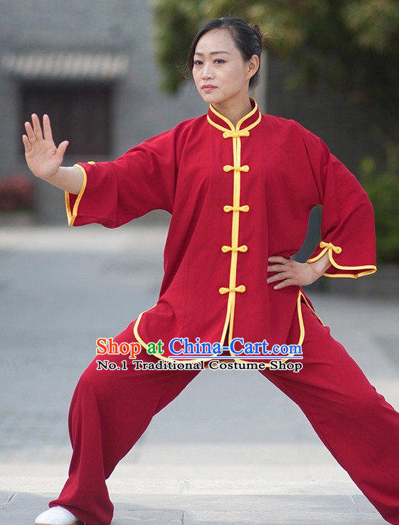Asian Professional Tai Chi Short Sleeved Uniform