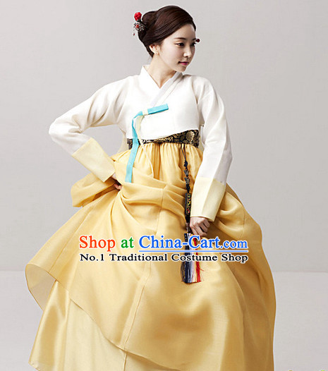 Top Korean Traditional Dress Complete Set for Women