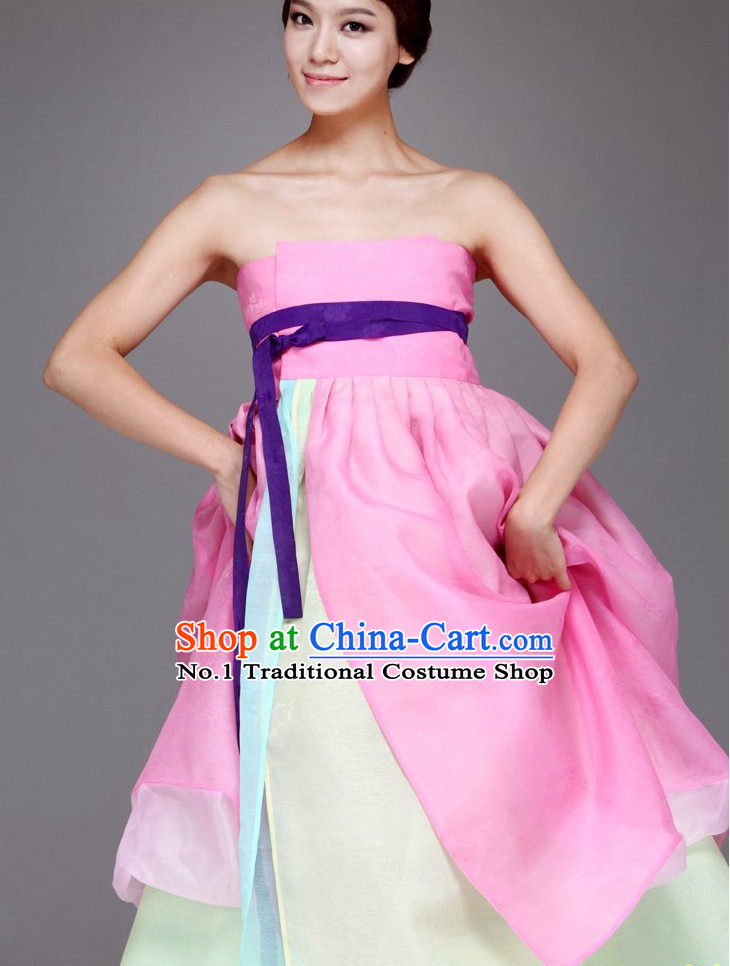Top Korean Sexy Modernized Hanbok Clothing for Women
