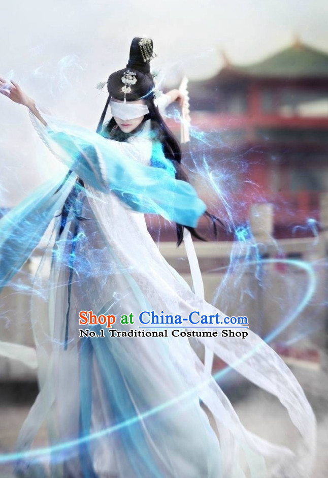 Chinese Costumes Traditional Clothing China Shop Heroine Cosplay Halloween Costumes