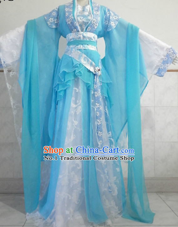 Asian Fashion Chinese Hanfu Halloween Costumes for Women