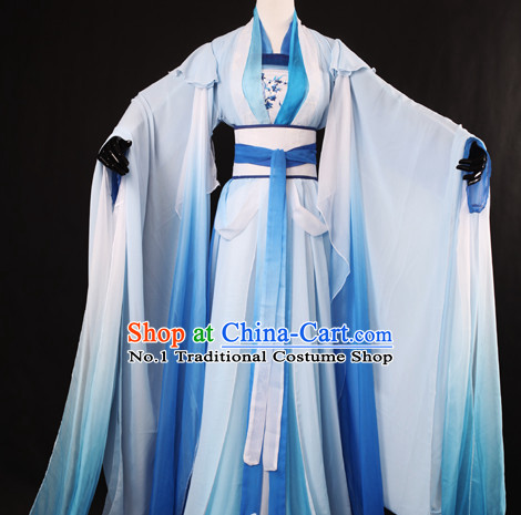 Chinese Hanfu Cosplay Halloween Costumes Carnival Costumes for Women