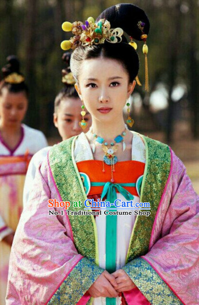 Chinese Traditional Princess Hair Accessories