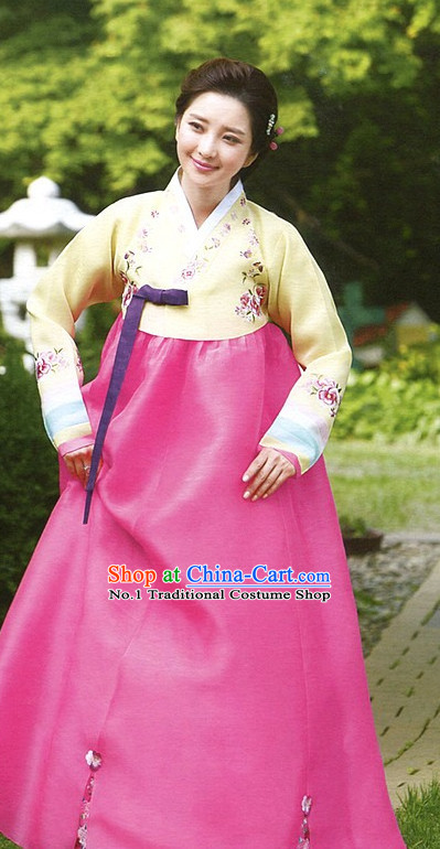 Korean Traditional Weddıng Dresses Weddıng Dress Formal Dresses Special Occasion Dresses