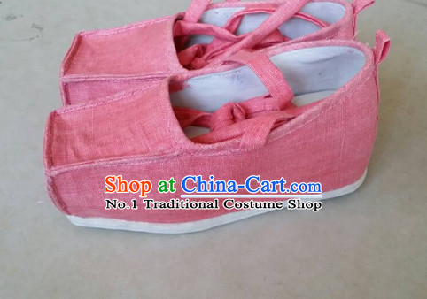 Handmade Chinese Traditional Bridal Women Shoes Footwear