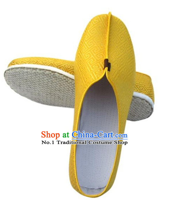 Handmade Chinese Traditional Fabric Hanfu Shoes Footwear