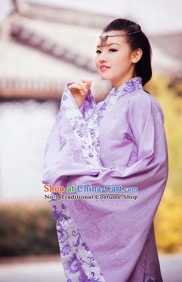 Asian Fashion online Oriental Dresses Chinese Hanfu Plus Size Wholesale Dresses Complete Set