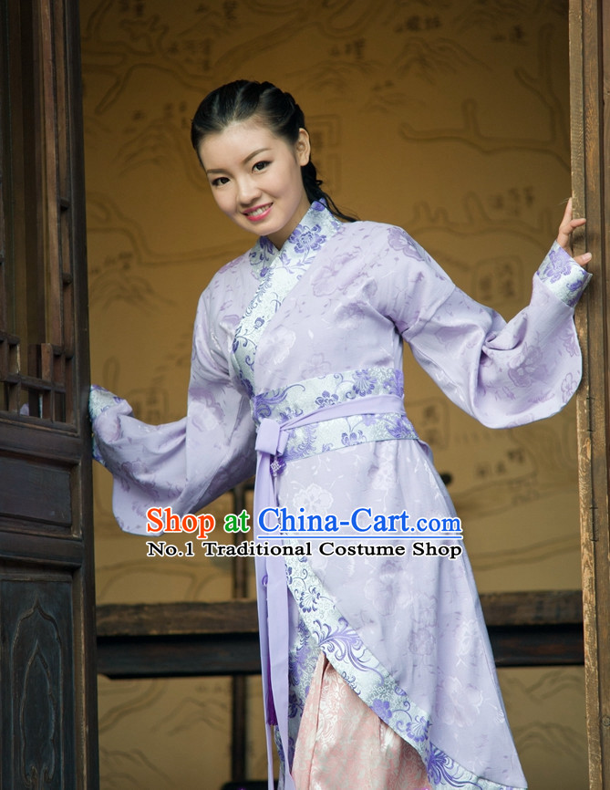 Asian Fashion online Oriental Dresses Chinese Hanfu Plus Size Wholesale Dress Complete Set