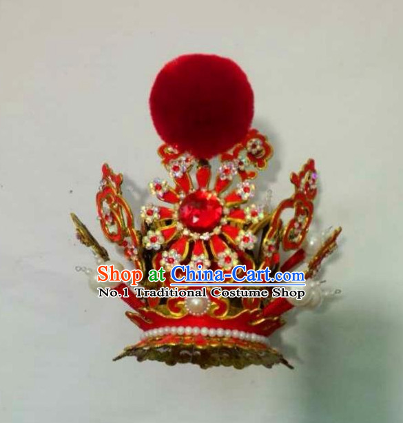 Asian Fashion Handmade Oriental Chinese Prince and Jia Baoyu Coronet