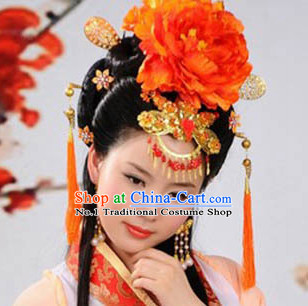 Chinese Classical Ladies Hanfu Hair Accessories