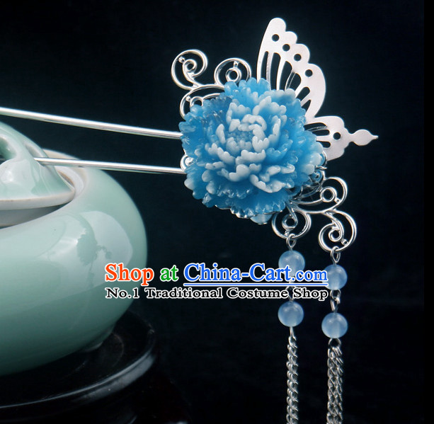 Handmade Chinese Traditional Ladies Hair Jewelry