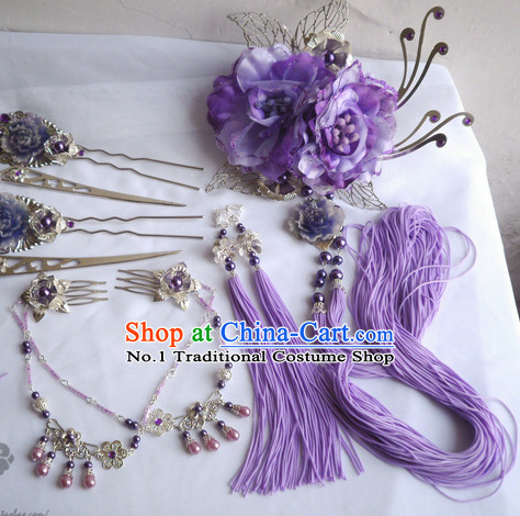 Chinese Imperial Empress Hair Accessories Complete Set