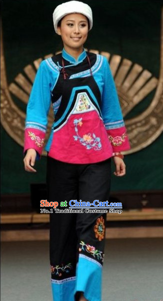 Oriental Clothing Chinese Traditional Ethnic Costumes Clothing in China