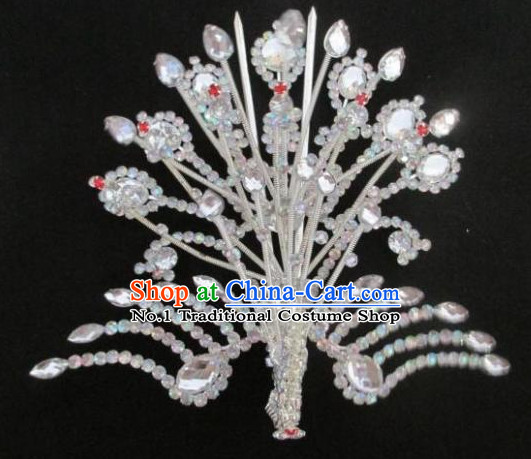 Chinese Traditional Peking Opera Phoenix Hair Jewelry