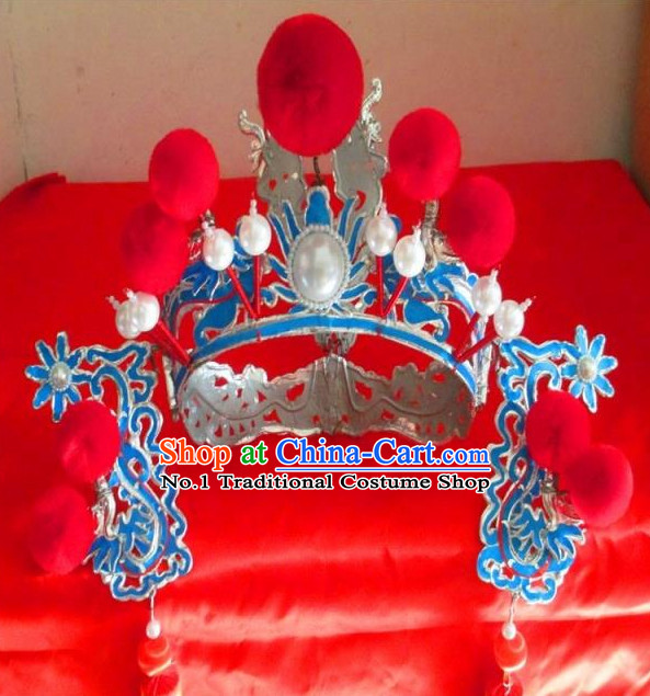 Chinese Traditional Opera Hua Dan Superheroine Hat