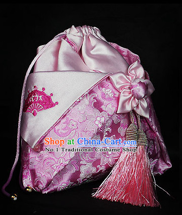 Chinese Hanfu Accessories Traditional Handmade Desinger Handbags Fashion Bags Fabric Bags