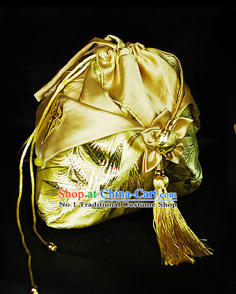 Chinese Hanfu Accessories Traditional Handmade Desinger Handbags Fashion Bags Fabric Bag