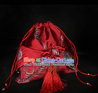 Chinese Hanfu Accessories Traditional Handmade Desinger Handbags Fashion Bag Fabric Bag