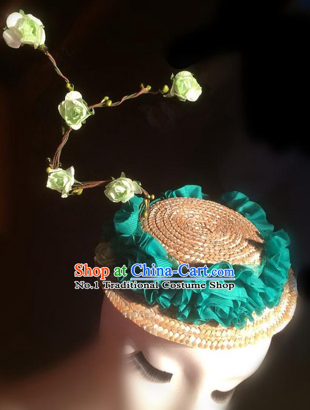 Custom Made Designer Hair Fascinators Hair Slides Headpieces Hair Ornaments Set
