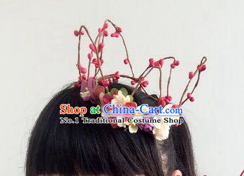 Custom Made Designer Flower Handmade Hair Fascinators Hair Slides Headpieces Hair Ornaments Set