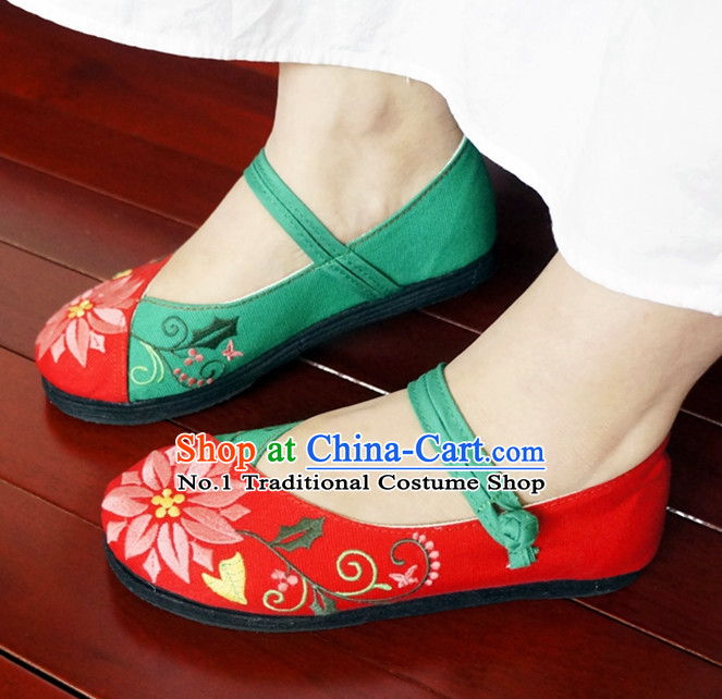 Chinese Traditional Fabric Shoes