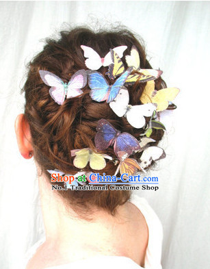 Butterfly Hair Fascinators Hair Slides Headpieces Hair Ornaments