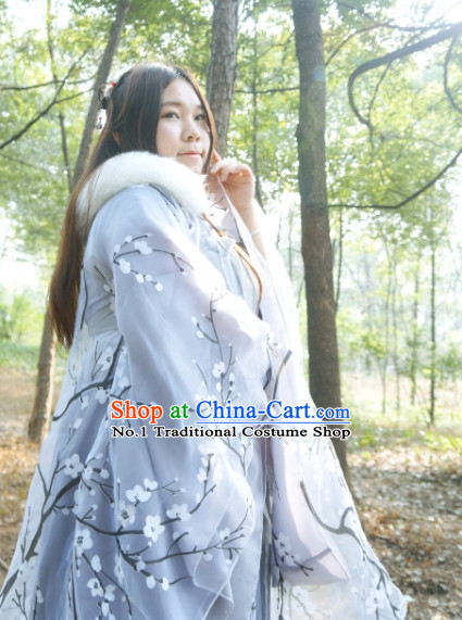 Chinese Winter Costumes Asia Fashion Ancient China Culture